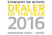 Dealer of the year 2016 RRG Warszawa