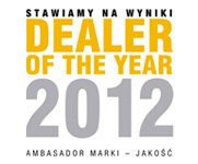 Dealer of the year 2012 RRG Warszawa