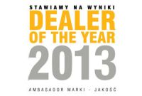 Dealer of the year 2013 RRG Warszawa