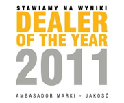Dealer of the year 2011 RRG Warszawa