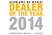 Dealer of the year 2014 RRG Warszawa